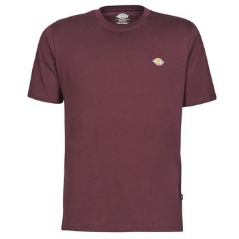 Υφασμάτινα Άνδρας T-shirt με κοντά μανίκια Dickies MAPLETON Bordeaux