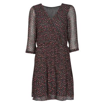 Υφασμάτινα Γυναίκα Κοντά Φορέματα Moony Mood NOULINE Black / Red