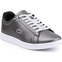 Παπούτσια Γυναίκα Χαμηλά Sneakers Lacoste Carnaby Evo 317 7-34SPW0010024 silver