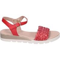 Παπούτσια Γυναίκα Σανδάλια / Πέδιλα Rizzoli Sandali Pelle Rosso