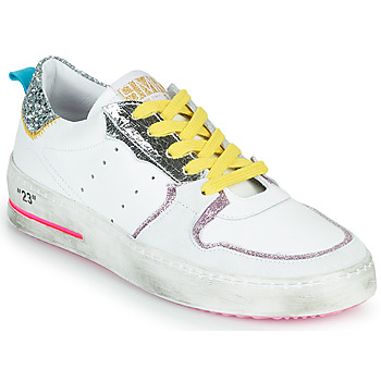 Παπούτσια Γυναίκα Χαμηλά Sneakers Semerdjian SONA Άσπρο / Silver