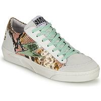 Παπούτσια Γυναίκα Χαμηλά Sneakers Semerdjian ELISE Άσπρο / Brown
