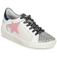 Παπούτσια Γυναίκα Χαμηλά Sneakers Semerdjian CARLA Silver / Άσπρο / Green