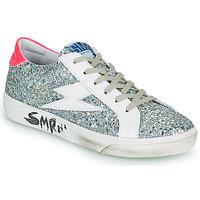Παπούτσια Γυναίκα Χαμηλά Sneakers Semerdjian CATRI Silver / Ροζ