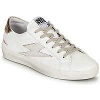 Παπούτσια Γυναίκα Χαμηλά Sneakers Semerdjian CATRI Άσπρο / Gold