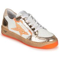 Παπούτσια Γυναίκα Χαμηλά Sneakers Semerdjian ARTO Άσπρο / Orange