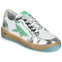 Παπούτσια Γυναίκα Χαμηλά Sneakers Semerdjian ARTO Άσπρο / Silver / Green