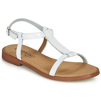 Παπούτσια Γυναίκα Σανδάλια / Πέδιλα Dorking LEYLA Άσπρο