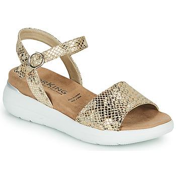 Παπούτσια Γυναίκα Σανδάλια / Πέδιλα Dorking ROCK Gold