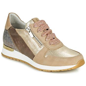Παπούτσια Γυναίκα Χαμηλά Sneakers Dorking VIOLA Gold