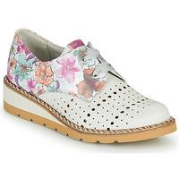 Παπούτσια Γυναίκα Derby Dorking TETRIS Άσπρο / Multicolour