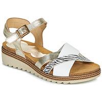 Παπούτσια Γυναίκα Σανδάλια / Πέδιλα Dorking ESPE Άσπρο / Silver