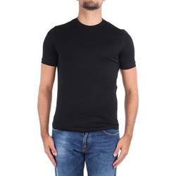 Υφασμάτινα Άνδρας T-shirt με κοντά μανίκια Cruciani CUJOSB G30 No Colour