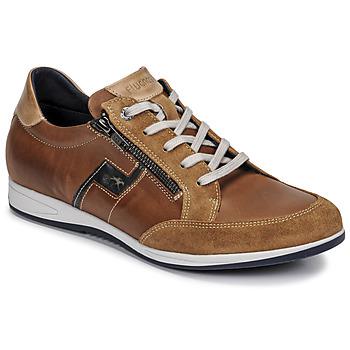Xαμηλά Sneakers Fluchos 0207-AFELPADO-CAMEL ΣΤΕΛΕΧΟΣ: Δέρμα & ΕΠΕΝΔΥΣΗ: Ύφασμα & ΕΣ. ΣΟΛΑ: Ύφασμα & ΕΞ. ΣΟΛΑ: Καουτσούκ