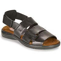 Παπούτσια Άνδρας Σανδάλια / Πέδιλα Fluchos 1200-SURF-NEGRO Black