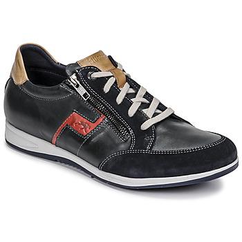 Xαμηλά Sneakers Fluchos 0207-AFELPADO-MARINO ΣΤΕΛΕΧΟΣ: Δέρμα & ΕΠΕΝΔΥΣΗ: Ύφασμα & ΕΣ. ΣΟΛΑ: Ύφασμα & ΕΞ. ΣΟΛΑ: Καουτσούκ