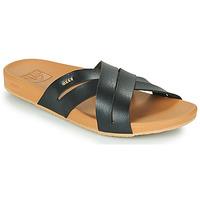Παπούτσια Γυναίκα σαγιονάρες Reef CUSHION SPRING BLOOM Black