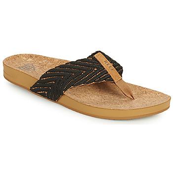 Παπούτσια Γυναίκα Σαγιονάρες Reef REEF CUSHION STRAND Black