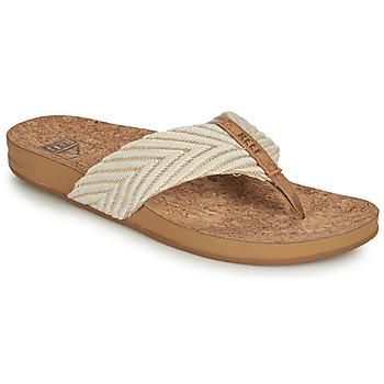 Παπούτσια Γυναίκα Σαγιονάρες Reef REEF CUSHION STRAND Άσπρο