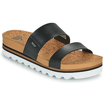 Παπούτσια Γυναίκα σαγιονάρες Reef CUSHION VISTA HI Black