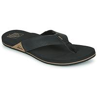 Παπούτσια Άνδρας Σαγιονάρες Reef REEF NEWPORT Black