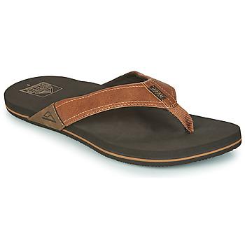 Παπούτσια Άνδρας Σαγιονάρες Reef REEF NEWPORT Brown