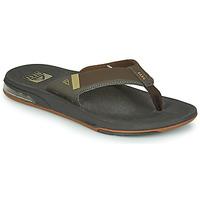 Παπούτσια Άνδρας Σαγιονάρες Reef FANNING LOW Brown