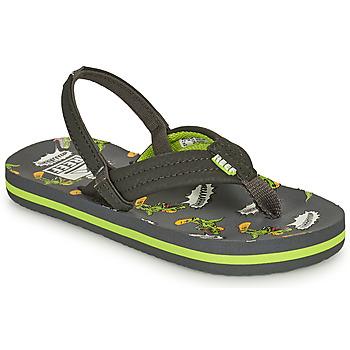 Παπούτσια Αγόρι Σαγιονάρες Reef LITTLE AHI Grey