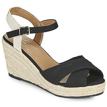 Παπούτσια Γυναίκα Σανδάλια / Πέδιλα Tom Tailor NOUMI Black