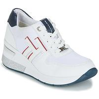 Παπούτσια Γυναίκα Χαμηλά Sneakers Tom Tailor JISEL Άσπρο