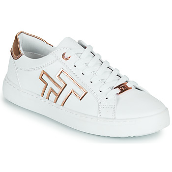 Παπούτσια Γυναίκα Χαμηλά Sneakers Tom Tailor POUCE Άσπρο