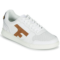 Παπούτσια Άνδρας Χαμηλά Sneakers Faguo HAZEL LEATHER Άσπρο / Brown