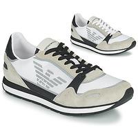 Παπούτσια Άνδρας Χαμηλά Sneakers Emporio Armani EMPAGNO Άσπρο