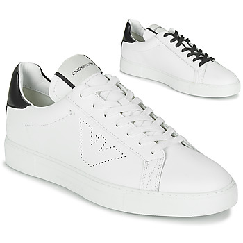 Παπούτσια Άνδρας Χαμηλά Sneakers Emporio Armani BELGA Άσπρο