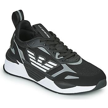 Παπούτσια Άνδρας Χαμηλά Sneakers Emporio Armani EA7 BLACES Black