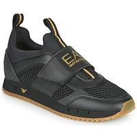 Παπούτσια Άνδρας Χαμηλά Sneakers Emporio Armani EA7 CALMONI Black