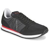 Παπούτσια Άνδρας Χαμηλά Sneakers Armani Exchange ESPACIA Black / Red