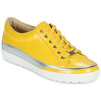 Παπούτσια Γυναίκα Χαμηλά Sneakers Caprice 23654-613 Yellow / Silver