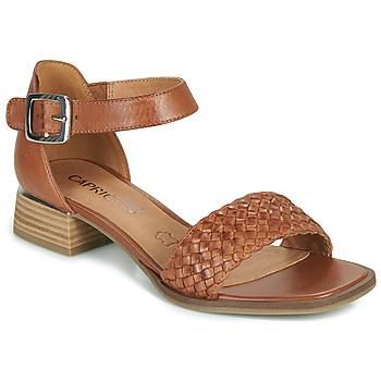 Παπούτσια Γυναίκα Σανδάλια / Πέδιλα Caprice 28208-303 Cognac