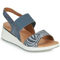 Παπούτσια Γυναίκα Σανδάλια / Πέδιλα Caprice 28306-849 Grey