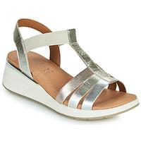 Παπούτσια Γυναίκα Σανδάλια / Πέδιλα Caprice 28308-970 Silver