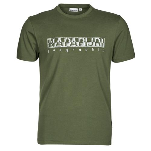 Υφασμάτινα Άνδρας T-shirt με κοντά μανίκια Napapijri SALLAR SS Green