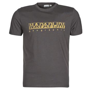 Υφασμάτινα Άνδρας T-shirt με κοντά μανίκια Napapijri SALLAR SS Grey / Fonce