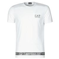 Υφασμάτινα Άνδρας T-shirt με κοντά μανίκια Emporio Armani EA7 3KPT05-PJ03Z-1100 Άσπρο