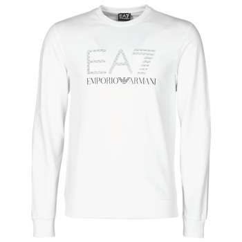 Υφασμάτινα Άνδρας Φούτερ Emporio Armani EA7 3KPMD7-PJ2SZ-1100 Άσπρο