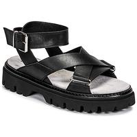 Παπούτσια Γυναίκα Σανδάλια / Πέδιλα Fru.it 6757-100-NERO Black