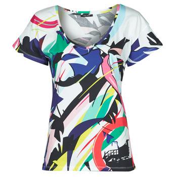 Υφασμάτινα Γυναίκα T-shirt με κοντά μανίκια One Step MONA Multicolour