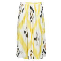 Υφασμάτινα Γυναίκα Φούστες One Step JOSEPHINE Yellow / Multicolour