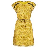 Υφασμάτινα Γυναίκα Κοντά Φορέματα One Step RAYNA Yellow
