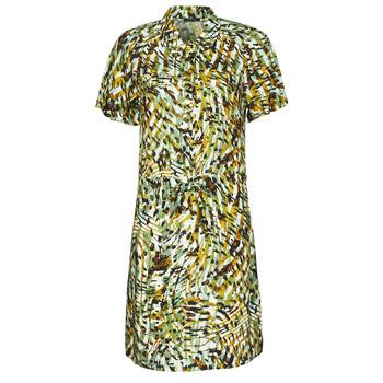 Υφασμάτινα Γυναίκα Κοντά Φορέματα One Step RAINBOW Green